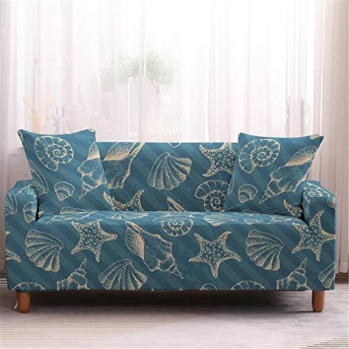 wjwzl Chaiselongue-Sofabezug, elastisch, rutschfest, für Wohnzimmer, Schlafzimmer, Sofabezug S, 12N, (4 Sitze)+(4 Sitze)