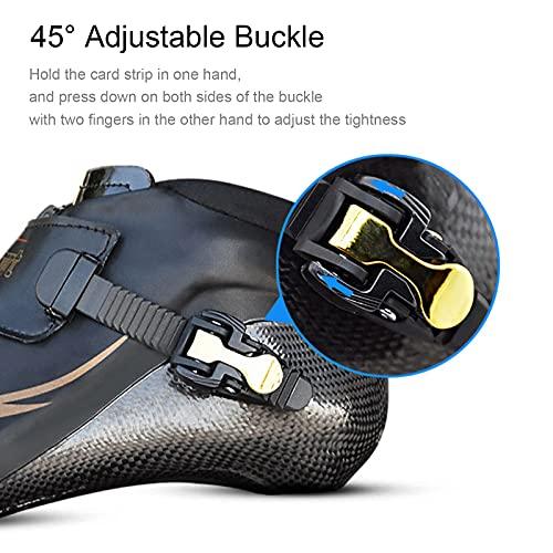 YDHNB Patines en Línea para Adultos y Niños Profesionales Fibra de Carbon Rollerblade Zapatos de Skate en Línea Profesionales Patinaje para Interior y Exterior,Negro,34