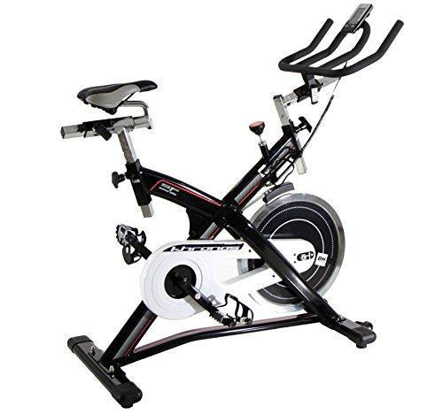 Bh Fitness KHRONOS 10005713 Indoor bike a frizione - 20 Kg - Bloccaggio d'emergenza - Manubrio tipo triathlon