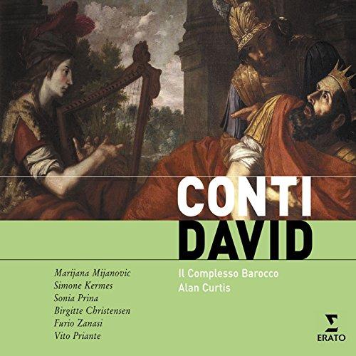 David, azione sacra, Parte Seconda: Recitativo accompagnato (David)