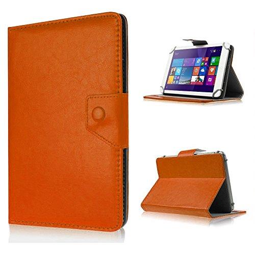 UC-Express Tasche f Huawei Mediapad X2 Hülle Case Schutz Tablet Cover Schutzhülle Etui Bag, Farben:Braun