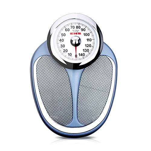 Mechanical scale Bathroom Scale, Non-Slip Surface, Large dial is Easy to Read, no Battery or Buttons Required, Load 200kg (440lb)