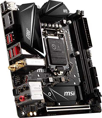 Build My PC, PC Builder, MSI MPG Z390I Gaming Edge AC
