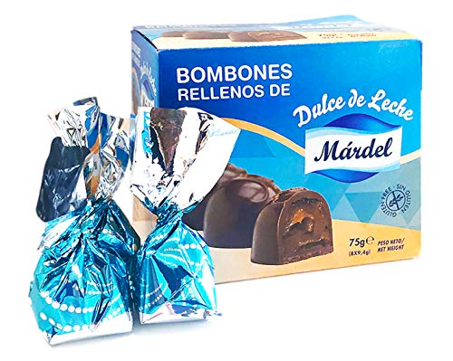 Bombon Chocolate con Dulce de Leche - Praline Mardel