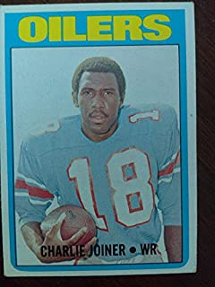 Charlie Joiner - 1972 Topps # 244 Houston Oilers / San Diego Chargers