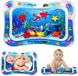 Bellababy Tummy Time Baby Water Mat for Infants & Toddlers Early Development Activities, Sensory Toys Gifts for Newborn 3 6 9 12 Months Boy Girl…