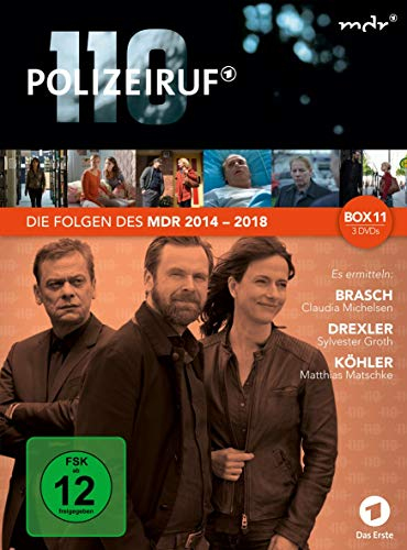 Polizeiruf 110 - MDR-Box 11 [3 DVDs]
