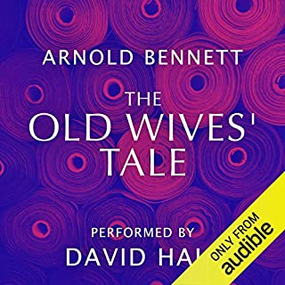 The Old Wives' Tale audiobook cover art