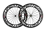 Superteam 88mm Carbon Wheelset 700C Clincher Road Bike Wheels Bicycle wheelset