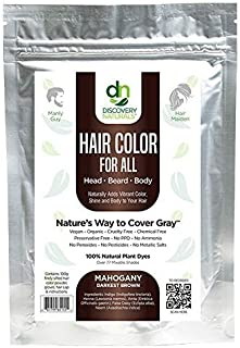 Sponsored Ad - Hair Color For All Natural Hair Dye For Men & Women I 100% Natural & Chemical-Free Pure Hair & Beard Color,...