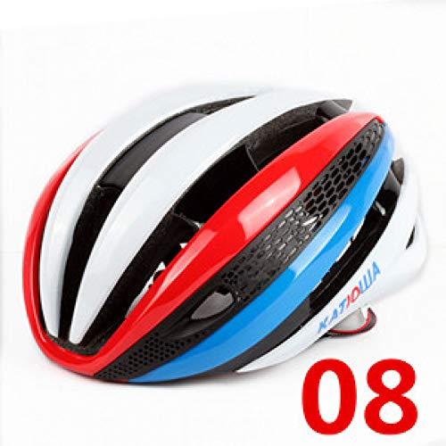 BTAWM HelmetTop merk Fietshelm rood Racefietshelm MTb speciale fietshelm