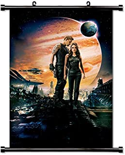 Jupiter Ascending Movie Fabric Wall Scroll Poster (32 x 47) Inches