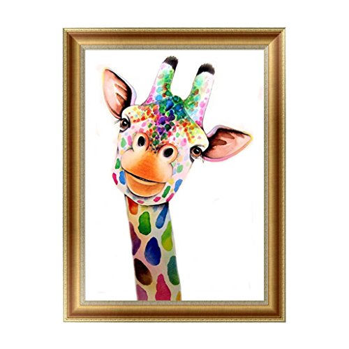 Logres Giraffe 5D Diamond Painting Embroidery Cross Stitch DIY Art Craft Home Wall Decor