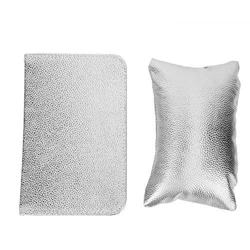 Juego de almohadillas de mano para decoración de uñas, soporte para reposabrazos...