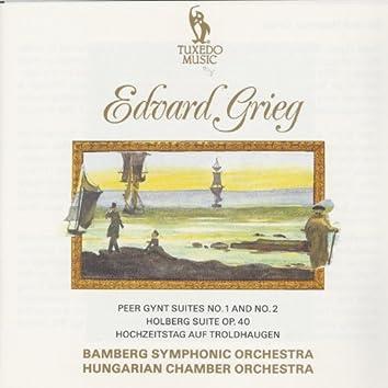 Grieg: Peer Gynt Suites No. 1 & No. 2,  Holberg Suite, Op. 40 & Hochzeitstag auf Troldhaugen