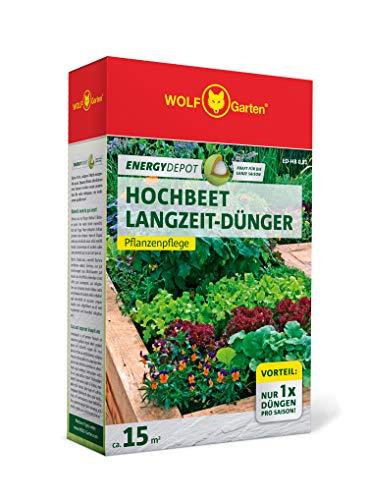 WOLF-Garten - Energy Depot Hochbeet-Langzeitdünger ED-HB 0,81 (für ca. 15 m²/Jahr); 3877005