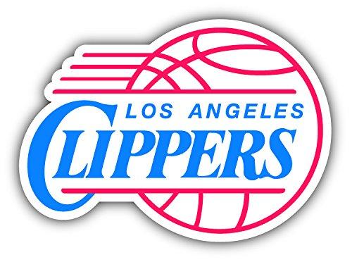 Los Angeles City Clipperzz Basketball Die-Cut Sticker - Sport Logo Car Bumper Sticker Decal 5'' X 4''