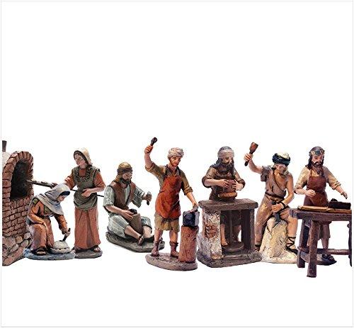 Triciclo Editores Belén Delprado J.L.Mayo - Artesanos 7 Figuras - Serie 11 cms BEL957