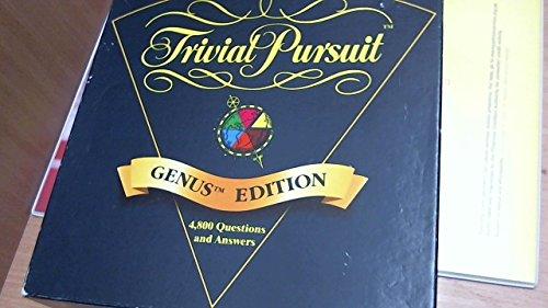 Trivial Pursuit - Genus Edition by Trival Pursuit