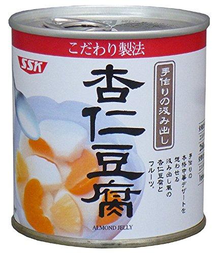 SSK こだわり製法 杏仁豆腐 5号缶
