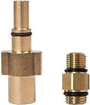 Zqlcc Foam Lance Adapter geschikt voor Black Decker Stekker-adapter voor schuimbuis schuim hogedrukreiniger (kleur: goud)
