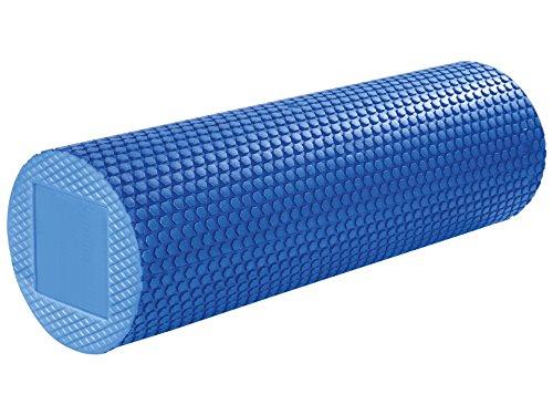 BAY® Faszienrolle, Schaumstoffrolle - Gegen Muskelverspannung & Muskelschmerzen blau 45 x 14 cm Faszien Rolle
