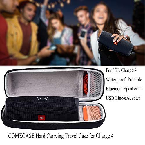 Oriolus Silicone Case for JBL Flip 5 Bluetooth Speaker Black