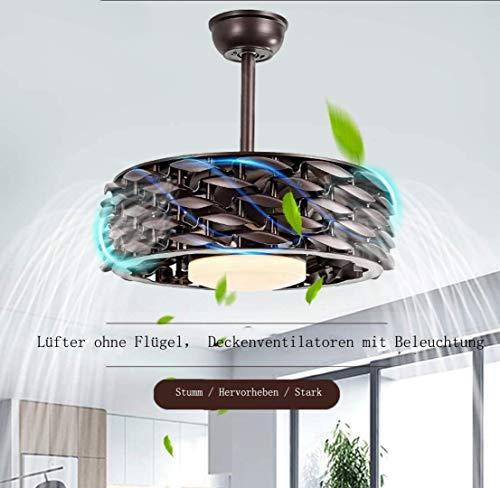 Decke Fan Licht Moderne Einfache Unsichtbare Led Decke Fans, Luft Reinigung Licht, Restaurant Decke Fan Licht Wohnzimmer Unsichtbare Decke Schlafzimmer Fan Licht