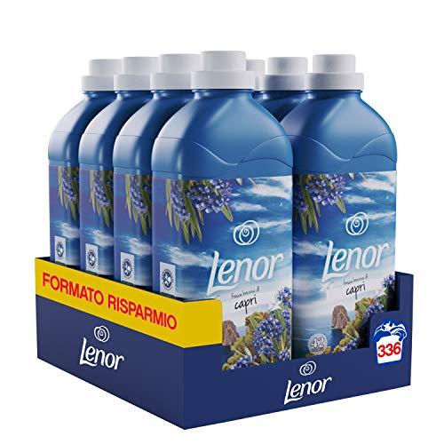 Lenor Capri Ammorbidente 336 Lavaggi Atmosfere D'Italia, Maxi Formato 8 x 42 Lavaggi