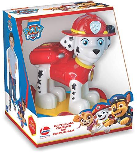 Brinquedo para Bebê Patrulha Canina de Empurrar Lider
