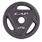 CAP Barbell 2-Inch Olympic Grip Plate (25-Pound (Set of 2))