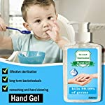 300ML Wash-Free Refreshing Hand Sanitizer Gel, Multipurpose Hand Soap Gel to 24-Hour Protection for Adults & Kids Kills 99.99% of Germs, Soft and Non-irritating 9 <p>❤️ PROTECT AGAINST BACTERIA: The hand cleaner is an Non-irritating Refreshing Hand Gel Hand Sanitizer that kills dirty stuff on contact! This clearner formula stops the spread of dirty stuff to keep your family safe. Safe for babies. ❤️ MOISTURIZING HAND CLEANER: Soft and non-irritating, does not harm the skin, has a water retention and hydration function ❤️ FOR THE FAMILY: Pass on the Dial heritage to the hands you care about most. Formulated to be gentle on skin, even on the smallest hands. ❤️ KILLS 99% OF DIRTY STUFF: Kills 99.99% of Bacteria* (*Bacteria encountered in household settings).This hand sanitizer is the perfect solution for hand hygiene at home, the office, medical facilities or while you travel. It stops the transition of dirty stuff and cleanses your skin. ❤️❤️ We truly want you to be happy with our items and our professional customer service will do whatever it takes to ensure your satisfaction. If you are not fully happy with the Sunshinehomely products, please feel free to contact us, Our customer representatives will respond you within 24 hours.</p>