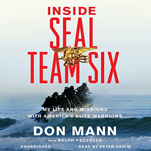 Inside SEAL Team Six audiobook cover art