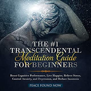 The #1 Transcendental Meditation Guide for Beginners audiobook cover art