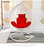QTQZ A General Swing seat Cushion Thick nest Hanging Chair Back Without Chair-A