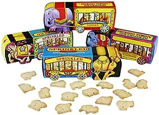 Circus Wagon Sprinkled Animal Cookies