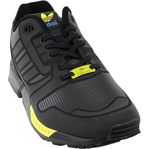 adidas Herren Originals ZX Flux Schuhe b54176, (Core Black/Pool/Light Aqua), 45 EU M