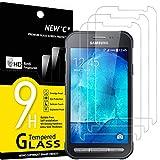 NEW'C Protector de Pantalla para Samsung Galaxy Xcover 3 SM-G388F, Antiarañazos, Antihuellas, Sin...