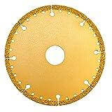 ASNOMY Disco de corte de diamante (125 x 22,22 mm, para metal, disco de corte con más de 5000 cortes en acero reforzado, acero, hierro e INOX