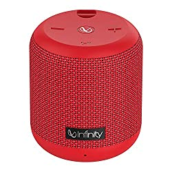 Infinity (JBL) Fuze 100 Deep Bass Dual Equalizer IPX7 Waterproof Portable Wireless Speaker (Passion Red),Harman,Fuze 100