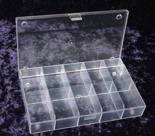Hüfner Dübel Sortimentskasten (L x B x H) 164 x 31 x 101 mm Anzahl Fächer: 10 feste Unterteilung 1 St.