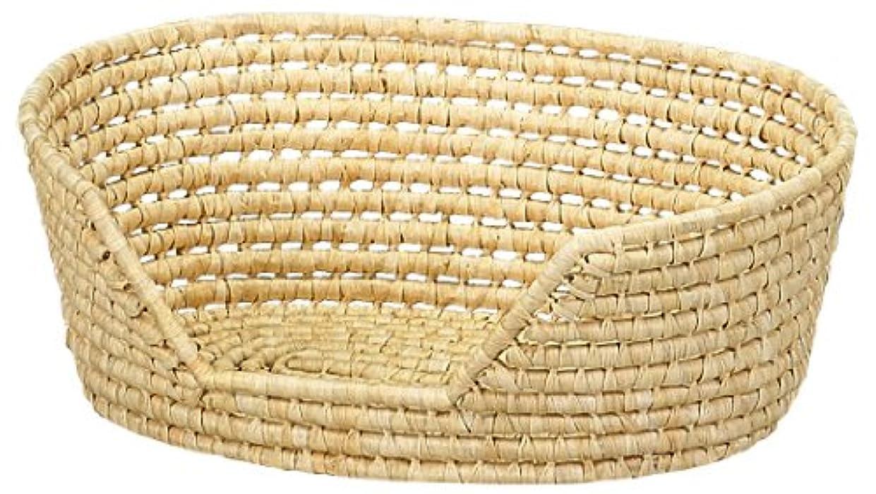 マークつまらない廃棄する大橋新治商店 ペットのベッドに Maize & Fabric Basket メイズペット篭 14-410