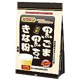 山本漢方製薬 黒ごま黒豆きな粉 計量タイプ お徳用 400g(200g×2袋)