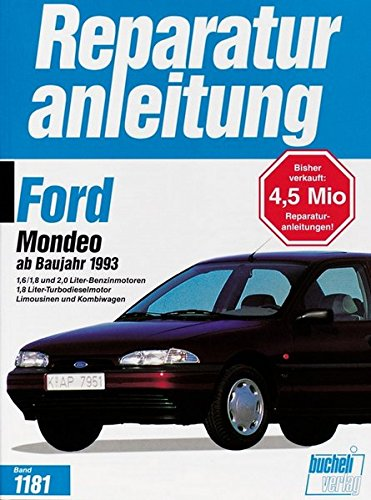 Ford Mondeo 1993-1995 (Reparaturanleitungen)