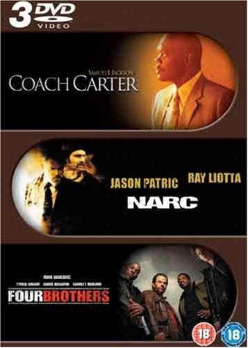 Coach Carter/Narc/Four Brothers [Reino Unido] [DVD]