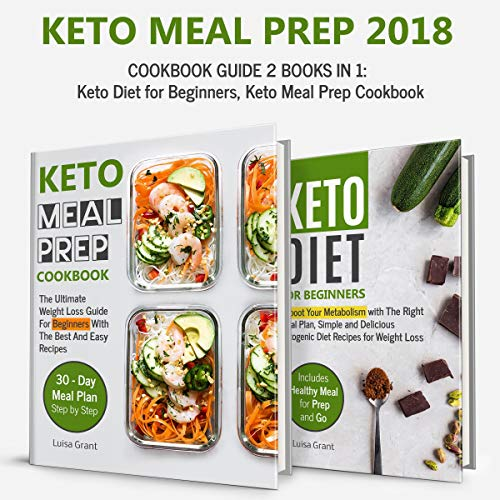 Keto Meal Prep 2018 audiobook cover art