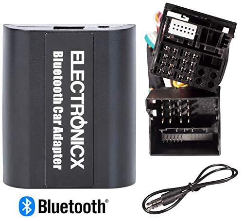 Elec-BTA-FRD2 Digitaler Musikadapter Bluetooth Freisprecheinrichtung AUX passend für Ford, USB-Ladeanschluss
