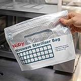 Zoom IMG-1 nuby sacchetti per sterilizzatore a