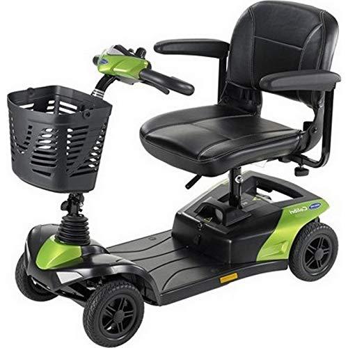 Colibri Invacare Mini scooter para discapacitados, 37 a 42 cm, color verde