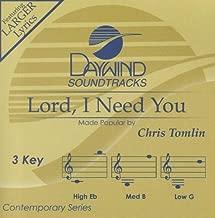 Lord, I Need You Accompaniment/Performance Track